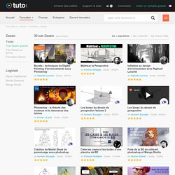 Dessin, Formation Dessin sur Tuto.com