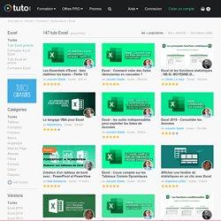 TUTO EXCEL , 350 Formations Excel en vidéo sur TUTO.COM
