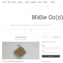 Tuto gratounette – Mélie Co(o)p