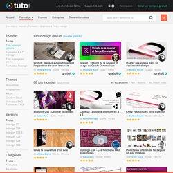 INDESIGN , 689 tutoriels vidéo Indesign sur TUTO