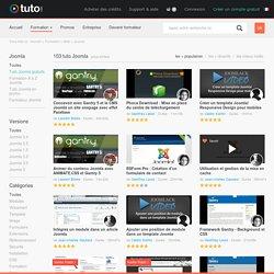 TUTO JOOMLA , 103 Formations Joomla en vidéo sur TUTO.COM