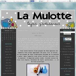 Tuto pois - ...La Mulotte qui Fimo - te...