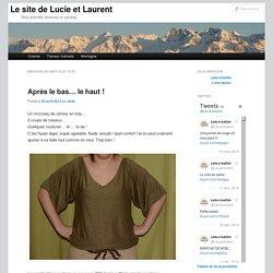 Le site de Lucie et Laurent
