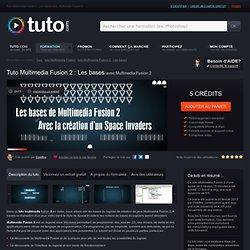 multimedia fusion 2 : les bases avec Multimedia Fusion 2 sur Tuto