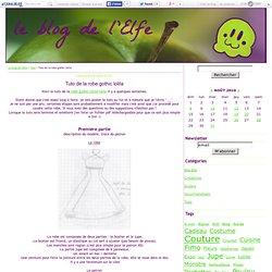 Tuto de la robe gothic lolita - Le blog de l'Elfe