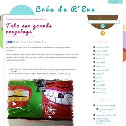 Tuto sac gourde recyclage « Créa de R'Eve