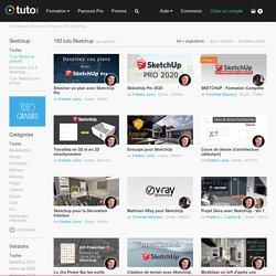 TUTO SKETCHUP , 85 Formations Sketchup en vidéo sur TUTO.COM