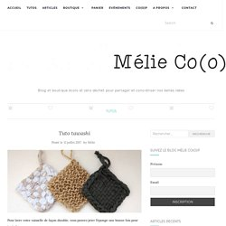 Tuto tawashi – Mélie Co(o)p