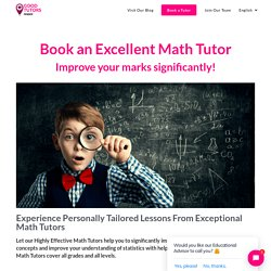 Home and Online Maths Tutor - Book Tutoring Services in France