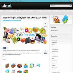 102 Free High-Quality Icon sets Over 2000+ Icons