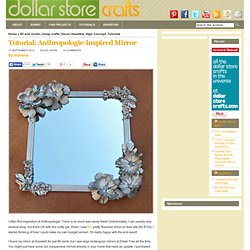 Tutorial: Anthropologie-Inspired Mirror