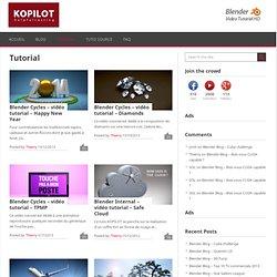 Tutorial Archives - KOPILOT - Blender 3D vidéo tutoriels en français