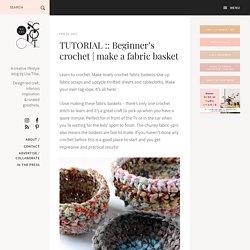 make a fabric basket