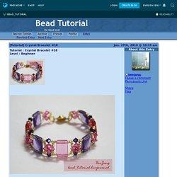 [Tutorial] Crystal Bracelet #18 - Bead Tutorial — LiveJournal