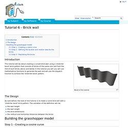 Tutorial 6 - Brick wall