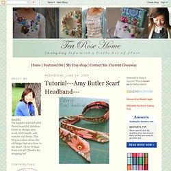 Amy Butler Scarf Headband