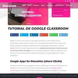 Tutorial completo de Google Classroom para profesores