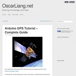 Arduino GPS Tutorial - Complete Guide