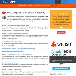 Corso Angular 9: Tutorial per Creare Web APP - Componenti, Direttive, Routing - ing. Davide Copelli