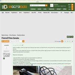 [Tutorial] Pintar Consolas (1 de 22) @ ElOtroLado.net Otras Consolas Consolas clásicas