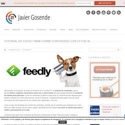 Tutorial de Feedly para curar contenidos con eficacia