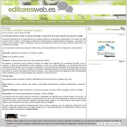 TUTORIAL ESCRIBIR MANGA: El guión at Editores Web: Creación de contenidos online y promoción en redes sociales