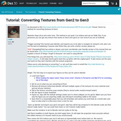 Tutorial: Converting Textures from Gen2 to Gen3 - Daz 3D Forums