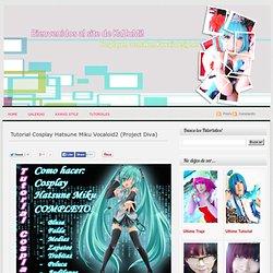 KaZuMi Kawaii Cosplay: Tutorial Cosplay Hatsune Miku Vocaloid2 (Project Diva)