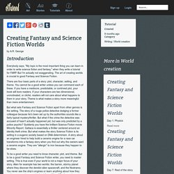 Tutorial - Creating Fantasy and Science Fiction Worlds