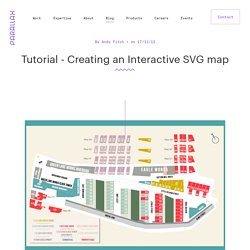 Tutorial - Creating an Interactive SVG map - Blog - Parallax