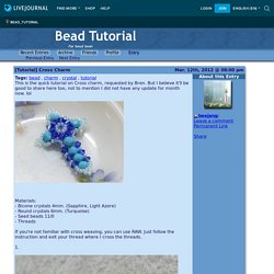 [Tutorial] Cross Charm - Bead Tutorial