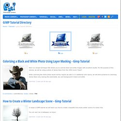GIMP Tutorial Directory - Overview Page 1