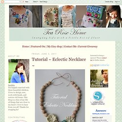 Eclectic Necklace ~