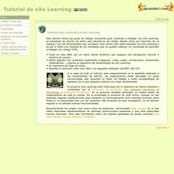 Tutorial de eXe Learning
