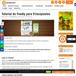 Tutorial de Feedly para Principiantes
