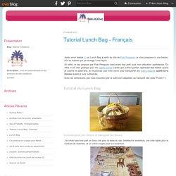 Tutorial Lunch Bag - Français - Marcel Créations