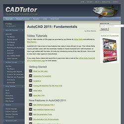 AutoCAD 2011: Fundamentals