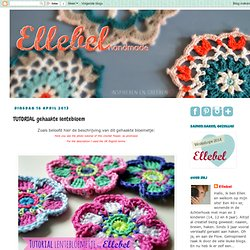 TUTORIAL crochet spring flower