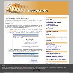 Tutorial Google Reader (Online RSS)