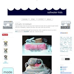 sewing tutorial | KIDS | crafts | handmade gifts | bread bags | fort kits | diy hang tags | saltwater-kids