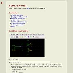 gEDA tutorial - Hobby Electronics