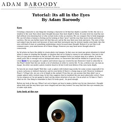 Tutorial: Its all in the Eyes - By Adam Baroody