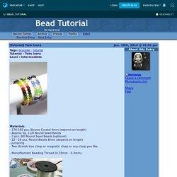 [Tutorial] Twin Ixora - Bead Tutorial — LiveJournal