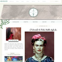 Compai: {Tutorial} A Frida Kahlo style do.
