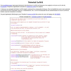 Tutorial LaTeX