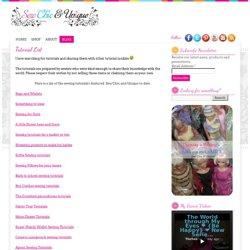 Tutorial List « Sew Chic and Unique