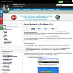Tutorial MalwareByte Anti-Malware Free