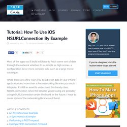 Tutorial: How To Use iOS NSURLConnection By Example