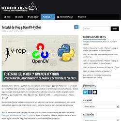 Tutorial de Vrep y OpenCV-Python – robologs