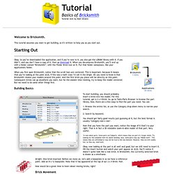Tutorial Page1